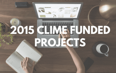 2015 CLIME FUNDED PROJECTS