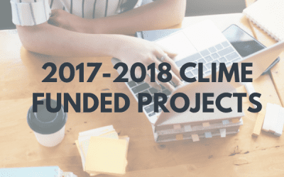 2017 CLIME FUNDED PROJECTS