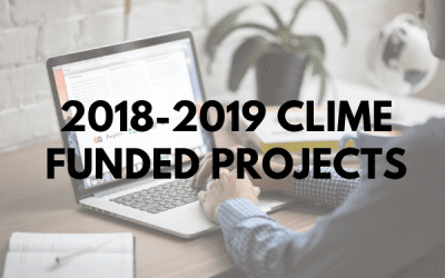 2018 CLIME FUNDED PROJECTS