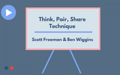 THINK, PAIR, SHARE TECHNIQUE
