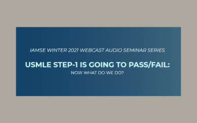 IAMSE Winter 2021 Webcast Series