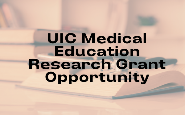 MEDICAL EDUCATION RESEARCH GRANT OPPORTUNITY