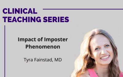 Impact of Imposter Phenomenon